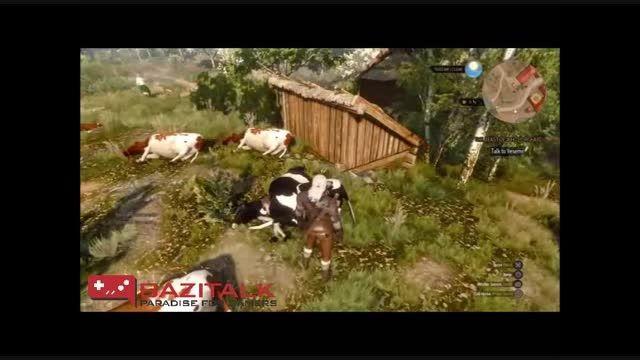با کشتن گاو در Witcher 3 درآمد بالایی کسب کنید