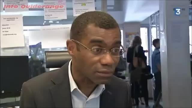 نمایش سهوی پسورد شبکه  فرانسوی TV5Monde حین مصاحبه