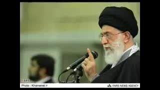 رهبری-ناچیز بودن فتنه گران در برابر عظمت ملت ایران