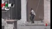 تک تیرانداز سوری و کشتن سرباز وهابی!!
