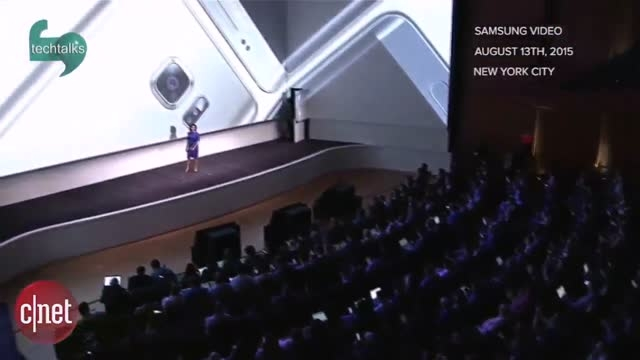 تصاویر معرفی ساعت هوشمند سامسونگ گیر ۲ در مراسم سامسونگ