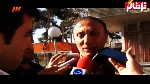 مصاحبه درخشان پیش از بازی با تراکتورسازی ( ویدیو )