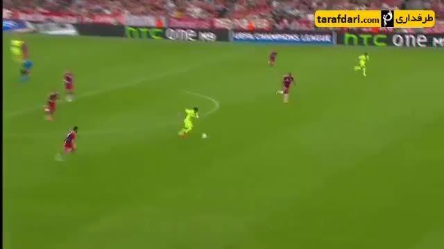 گلزنان برزیلی بارسلونا در لیگ قهرمانان اروپا