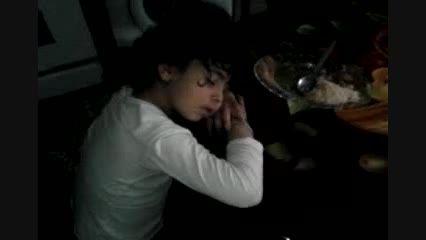 خوش خواب ترین کودک دنیا