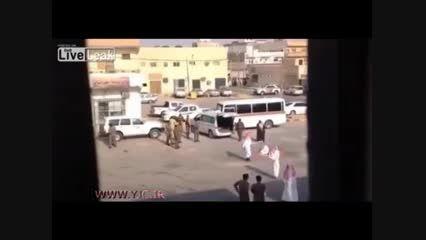 لحظه گردن زدن در عربستان +18 لطفا