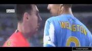 درگیری بازیکن مالاگا با مسی