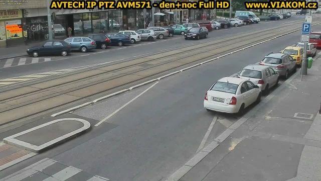نمونه تصویر دوربین های گردان و کنترل ترافیک AVTECH