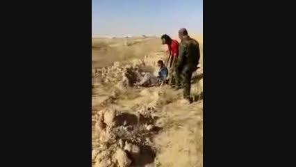 اعدام داعشی تروریست