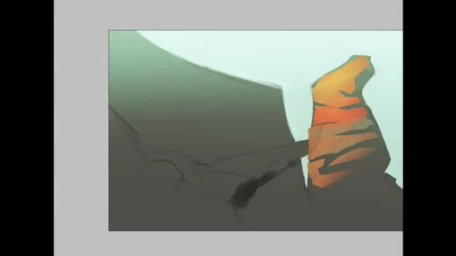 نقاشی محیط فانتری بوسیله قلم نوری در محیط فتوشاپ