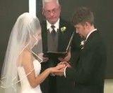 خندیدن ناجور عروس تو مراسم عروسی