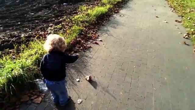 خلاقیت جالب یک پدر برای پسرش