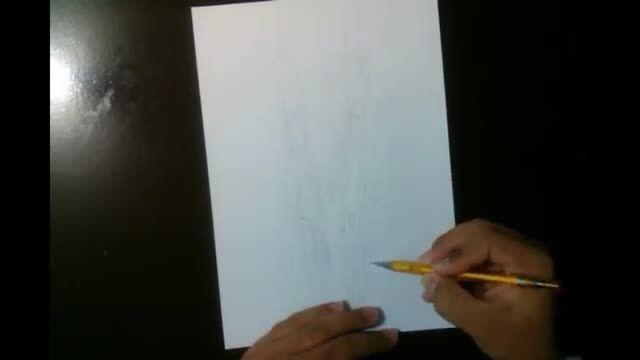 نقاشی مانگا 10 NARUTO نقاشی 3 بعدی
