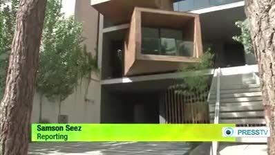 خانه ای که به هر طرفی میچرخد اونم تو شمال تهران
