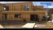 ویلای کارانا در کجور مازندران/مراحل ساخت