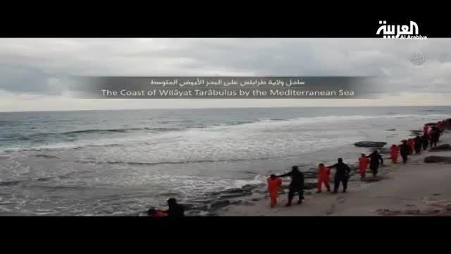 داعش 21 جوان مصری را سر برید (18+)