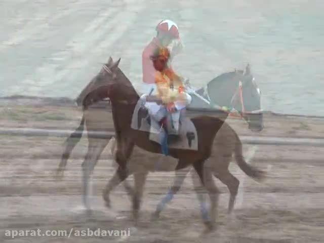 خط پایان - کورس اسبدوانی هفته دوم آق قلا 1394