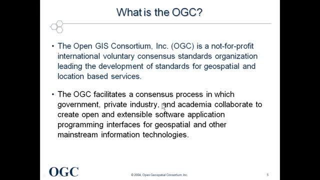 آشنایی با OGC