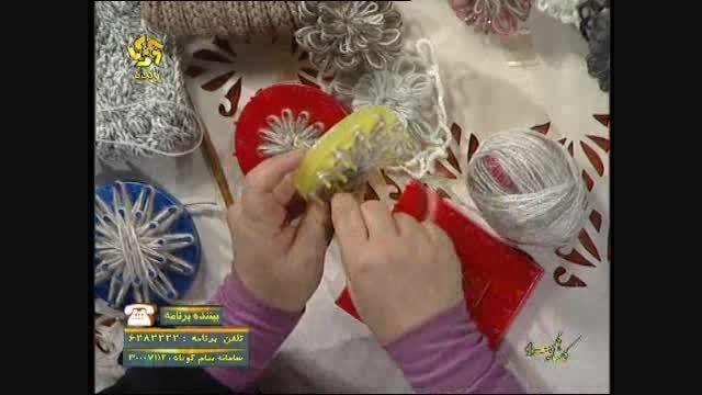 آموزش کار با دستگاه موتیف گلساز