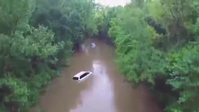 سیل در کارولینای جنوبی