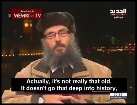 """درگیری شیخ سلفی با مجری زن """"الجدید""""+فیلم"""