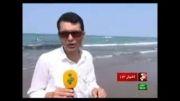 دریای محمود آباد و شور و حال مردم در روزهای آخر تابستان
