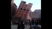 فروریختن ساختمان هشت طبقه در مصر