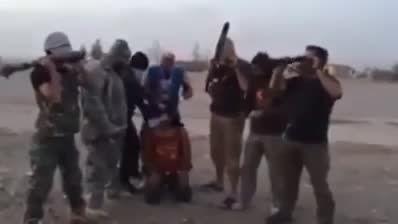 داعش در اصفهان !! سر یکی رو بریدن ! داعش در ایران ...