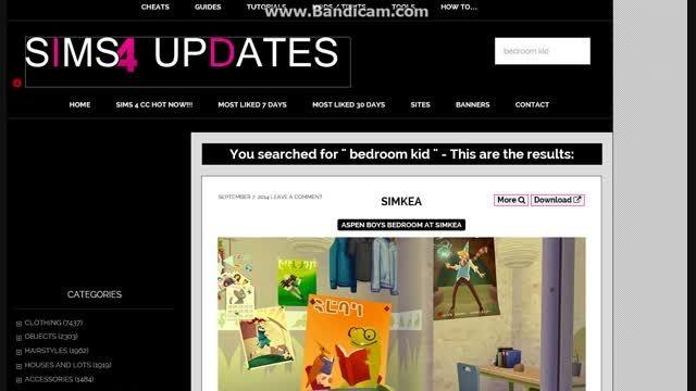 یک سایت بدون فیلترشکن برای دانلود کردن چیز  برای سیمز4