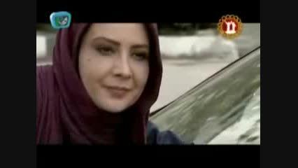 عشوه های  بازیگر زن ایرانی در یک سریال