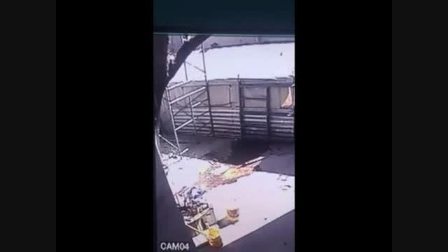 مرگ دردناک کارگر ساختمانی