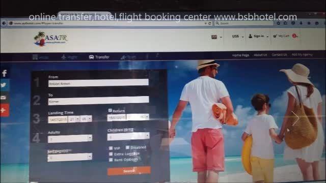 رزرو آنلاین ترانسفر فرودگاهی استانبول و آنتالیا