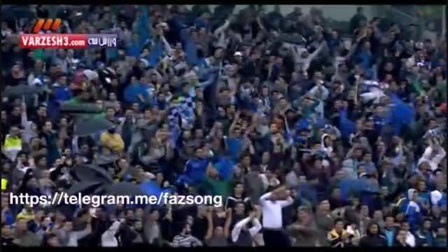 2 گل بازی استقلال و پرسپولیس آبان 94 تساوی 1 ' 1