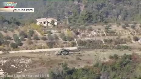 عملیات نجات خلبان روس در مرزهای سوریه و ترکیه
