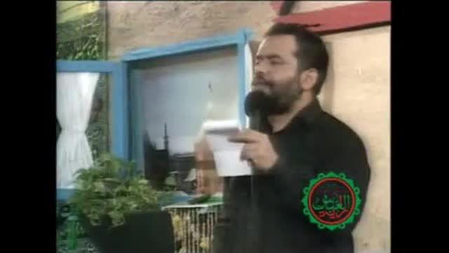 علمدار علمتو نگهدار با حضور احمدی نژاد(حاج محمود کریمی