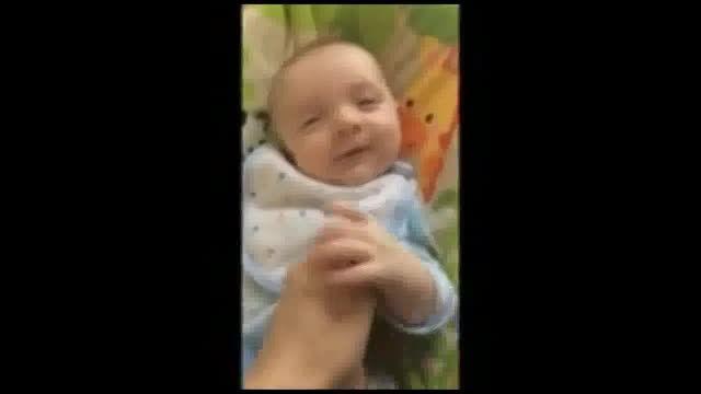 حرف زدن نوزاد 50 روزه
