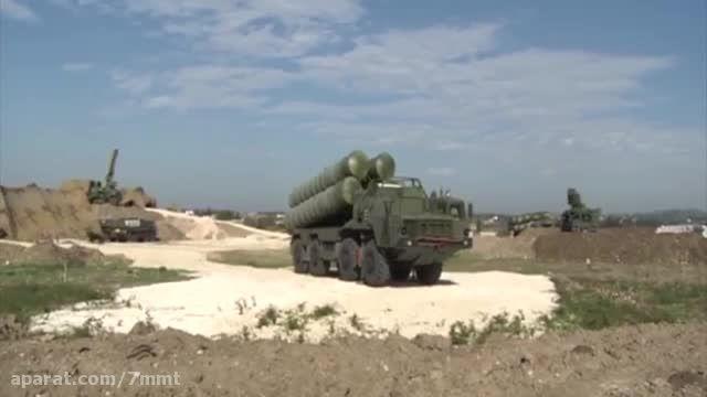 استقرار S-400 در سوریه