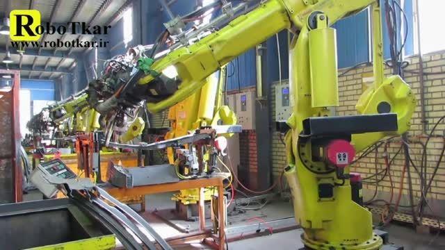 طراحی و راه اندازی سلول های رباتیک