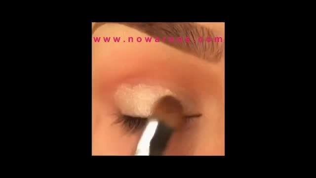 انجمن های نوعروس : آموزش آرایش چشم زیبا و جذاب