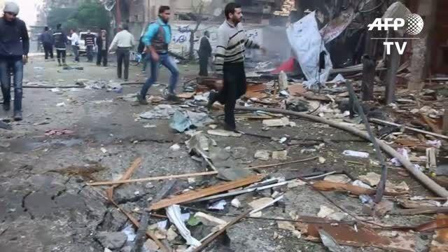 حملات روسیه به سوریه غیر نظامیان را هم به کشتن داد