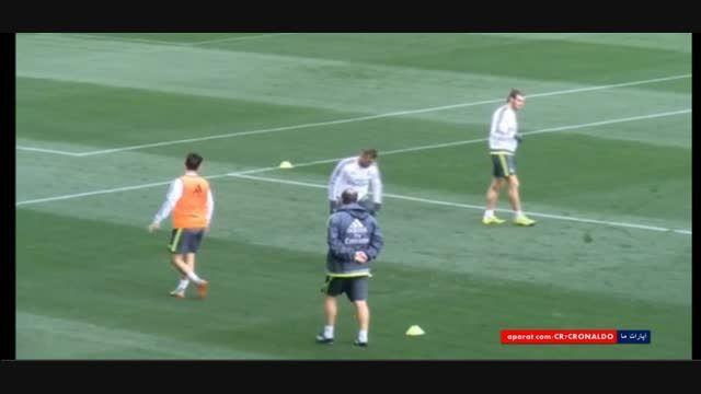 مصدومیت جزئی ایسکو در تمرینات رئال مادرید (2015.07.14)