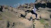 حامد هایدی در تیزر تبلیغاتی زانوبند
