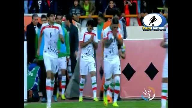 آنالیز فنی بازی تیم ملی فوتبال ایران مقابل  ترکمنستان