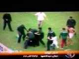 درگیری هواداران در  فوتبال برزیل