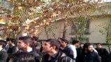 تجمع دانشجویان شمسی پور در اعتراض به غصب ساختمان ونک در مقابل وزارت علوم