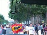 حمله تماشاگر بارسلونا به تماشاگر رئال مادرید