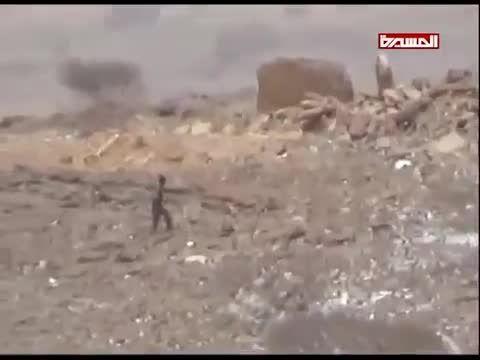 تصرف مقر نظامی سعودی ها توسط انصارالله و فرار سربازان