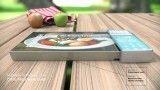 مایکرو ویو کوچک برای گرم کردن غذاهای بسته بندی شده
