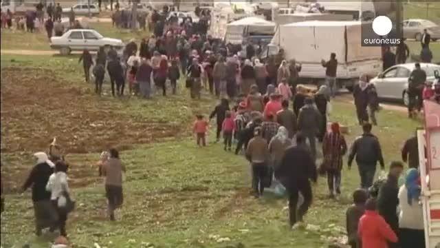 ساکنان کوبانی به خانه های خود باز می گردند