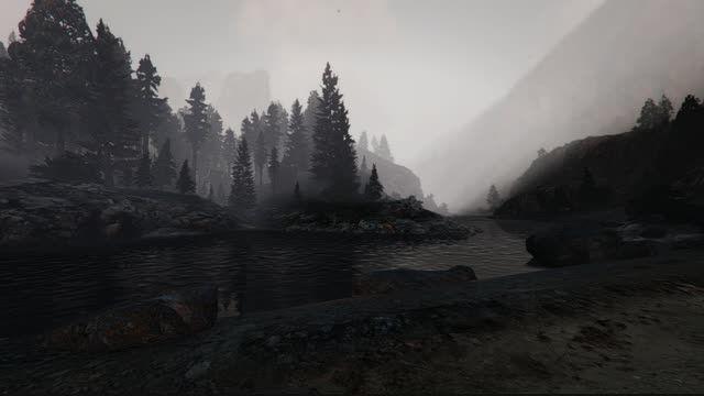 گرافیک دنیای واقعی و هوای مه آلود برای GTA V