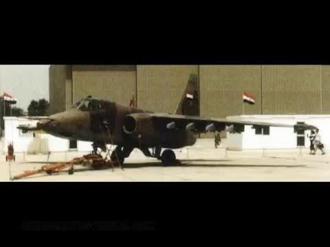 تصاویری از حمله های هوایی عراق به ایران